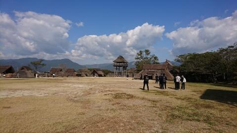 吉野ヶ里の風景